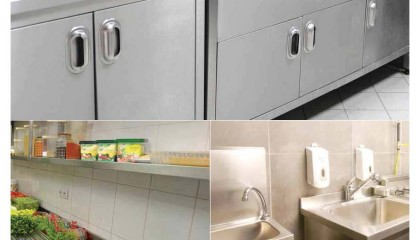Kitchen Furniture, Hoods & Floor Drains